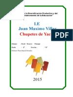 P. Yacon, Chupete