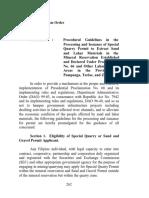 Annex 1- Sand and Gravel Permit Process