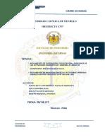 Universidad Católica de Trujillo Cierre de Minas. Segunda Unidad