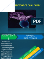 Fungal Infections of the oral cavity