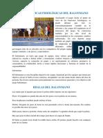 Características Fisiológicas Del Balonmano