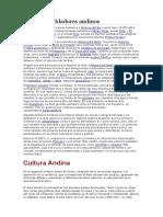 Glosario de Culturas Andinas