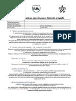 Acolfa - Innovación y Proyectos - UT4 - Último Archivo - Modelo Acta de Constitución - Ramón Correa