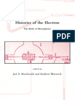 Histories of the Electron the Birth of Microphysics