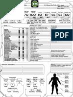 Halo Alpha AI CharacterSheet Interactive Full