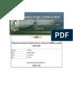 Cuestionario de Opinión Sobre Los Servicios de La Unam Licenciatura