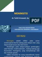 Meningitis, Meningoensefalitis, Abses Otak