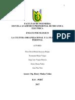 Ensayo de Cultura Organizacional y Flexibilidad Personal (1)
