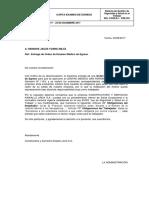 Carta Examen Medico de Retiro