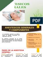 anestesico ggenerales