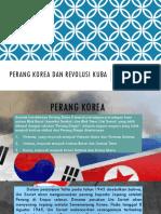 Perang Korea Dan Revolusi Kuba