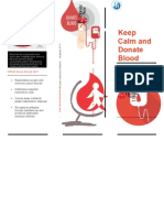 Keep Calm and Donate Blood