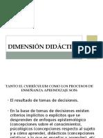Dimensión Didáctica15