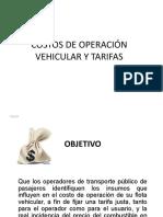 52923801 Costos de Operacion Vehicular y Tarifas