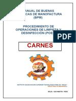 Manual de Bpm y Poes- Carnes- Industrias Alimentarias 2017 (1)
