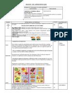 Alimentos Nutritivos 4 Años