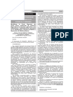 RGG 134-2014. Modifican La Parte Especial Del Texto Único Ordenado de Criterios Específicos de Sanción