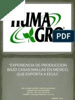2. Charla - Experiencia Producción - Manuel Campos - HUMAGRO