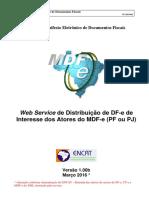 MDFe Nota Tecnica 2015 002 WS Distribuicao DFE