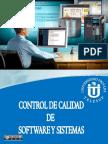 Contro de Calidad de Software y Sistemas