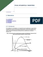 Matematica Estadistica y Muestreo