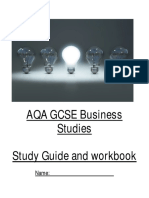 Business Studies Student Guide