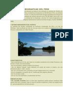 Cuencas Hidrograficas Del Peru