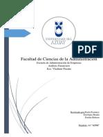 A.F. Memorandum Financiero