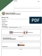 Donor's Tax - Bureau of Internal Revenue