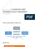 Cepstrum Analysis and Gearbox Fault Diagnosis