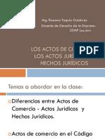 (2) Actos Comercio Actos juridicos y hecho juridico (1).ppt