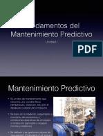 Fundamentos Del Mantenimiento Predictivo UN.1