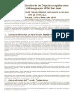 Análisis Técnico-Jurídico de Todos Los Tratados Que Se Dieron Respecto a a Problematica