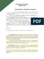 1° CLASE_MADURACIÓN-CRECIMIENTO Y DESARROLLO