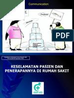 DR. Dr. a. Andyk Asmoro, SpAn - Keselamatan Pasien Dan Penerapannya Di RS