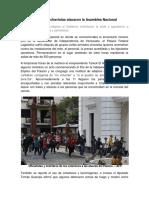 Colectivos Chavistas Atacaron La Asamblea Nacional