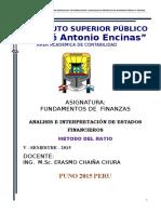 Fundamentos de Finanzas - 2014