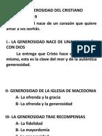 PP La Generosidad - Ps David