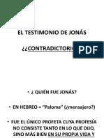 El Testimonio de Jonás