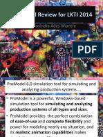 Promodel Review for LKTI 2015_Novindra