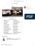 Times Scholars Programme - The Times of India