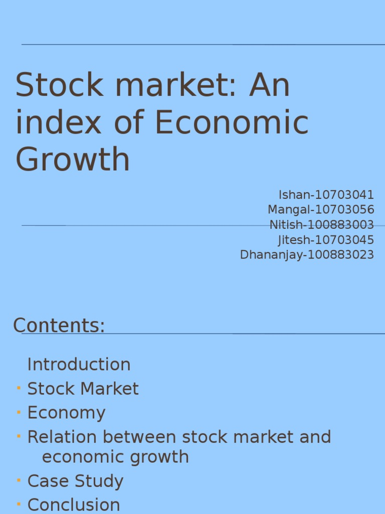 a description of the list of the main measurable indicators of economic growth and structural change A founding principle of the hamilton project's economic strategy is that long-term prosperity is best achieved by fostering economic growth and broad participation in that growth.