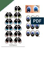 Ojitos Para Imprimir