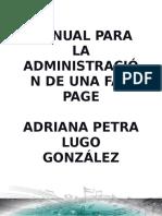 Manual Para La Administración de Una Fan Page