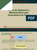 Operacion y Mantenimiento de Generadores de Vapor