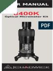 8400 k Manual