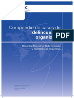 Casos de Deincuencia Organizada