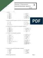 Guía de Logaritmo 2