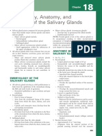 CH 18 Embryology, Anatomy, And Histology of the Salivary Glands