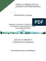 SIMULACRO - Lo urbano en las territorialidades contemporáneas